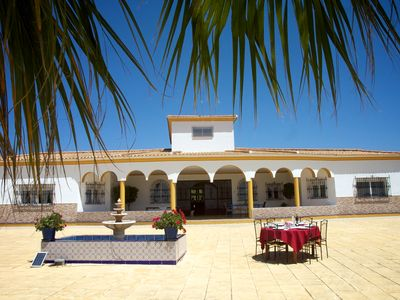 Photo for Exclusive CHALET near SEVILLE Andalusia with pool up to 14 people
