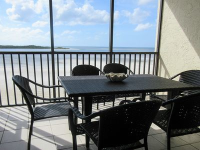 Photo for Beachfront 2B/2B Vacation Condo At Carlos Pointe Resort With Amazing Views! World Famous Sunsets! Southern Tip of Island!