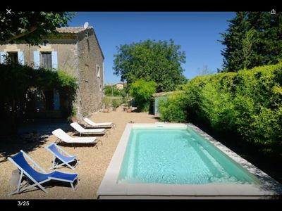Photo for Traditional House with Pool, restored in old style, in Luberon, Provence