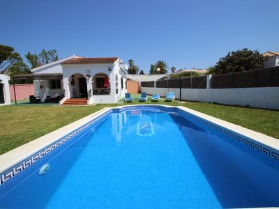Photo for nice holiday home in Fuente del Gallo, with sparkling private pool, near to the beach, sleeps 5, with wifi