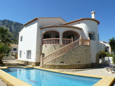Photo for Villa with private pool near Denia and the beach