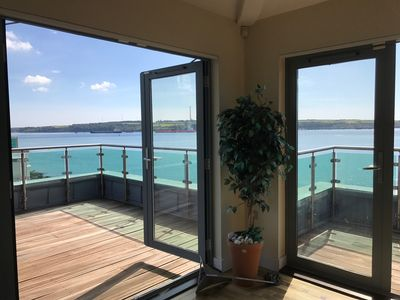 Photo for Horizon Luxury Penthouse Pembrokeshire Beachfront SeaFront South Facing Hol Let