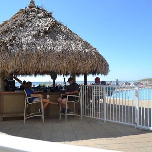 Tiki Bar at LARGE Oceanfront Pool.. Emerald Beach Resort