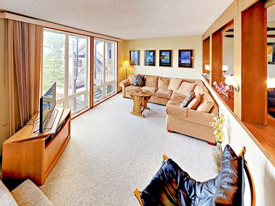 Photo for 300 Yards to Lifts! Granby Ranch 2BR Retreat w/ Pool, Tennis & Balcony