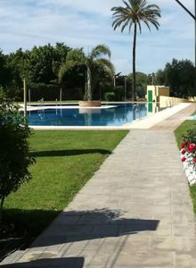 Photo for Studio in Torremolinos, with wonderful sea view, pool access, enclosed garden - 850 m from the beach