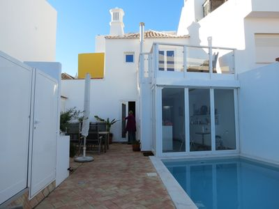 Photo for Authent. Fehs. with swimming pool completely renovated, Old Town, near fort,