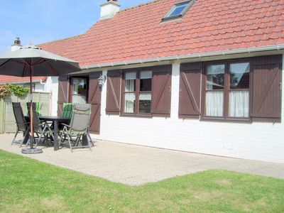 Photo for Sunny, cozy cottage, near the beach, holiday park Zeewind, free Wi-Fi