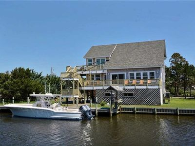 Photo for Carolina Winds:  Dog friendly, hot tub, dock, access to Pamlico Sound.