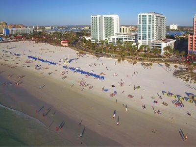 Photo for Two Bedroom Deluxe Luxury Condo, Clearwater Beach