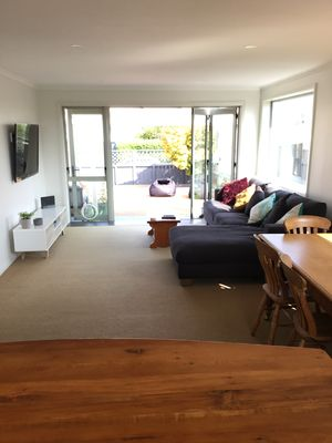 Photo for 3 bedroom -all day sun overlooking Tomahawk beach