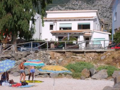Photo for large and comfortable apartment in front of the beach - Cala Gonone