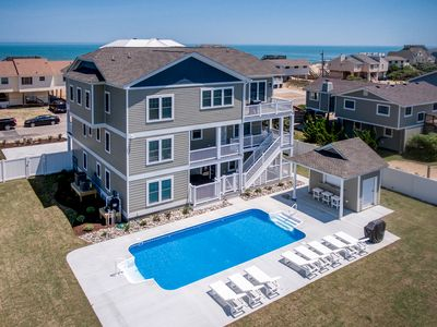 Photo for At Last | 240 ft from the Beach | Private Pool, Hot Tub