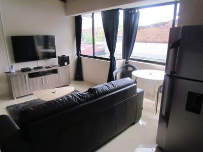 Photo for 6 bedroom a Building 4 Apartments Enclosed Terrace 4 hot tubs LLeras
