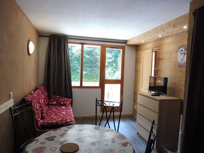 Photo for VALFREJUS nice apartment 4 people center station