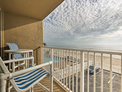 Photo for NEW! Daytona Beach Studio w/ Ocean Views & Pool!