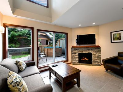 Photo for 55 Glaciers Reach, this 2br home has a hot tub & pool in Whistler Village