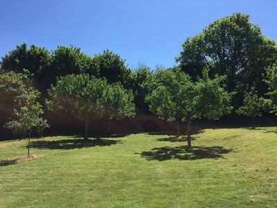 The large Orchard Garden