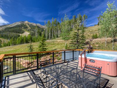 Photo for Watch The Skiers From Your Private Hot Tub! Views Of Lone Peak & Wildlife