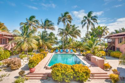 View from Coral Caye Villa balcony