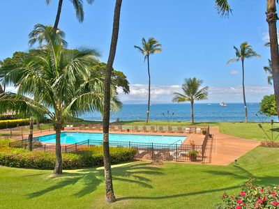 Photo for Beautiful 2BR Oceanfront Condo from $305, Amazing Sunsets! ~ Maalaea Surf G10