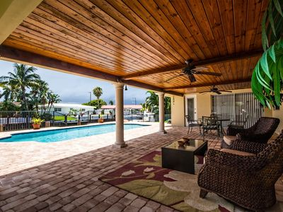 Photo for Bella Acqua - Luxury Waterfront Home, Minutes to the Ocean, Private Heated Pool