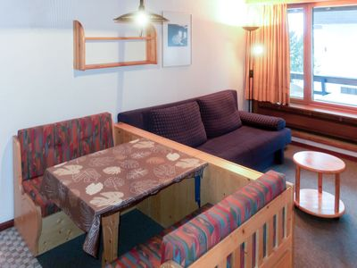 Photo for Thyon Apartment, Sleeps 2 with Pool and WiFi