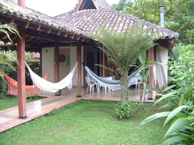 Photo for Charming and airy house for up to 9 people, with large garden, 700m from the beach