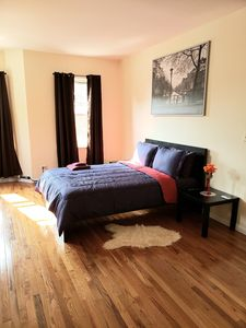 Photo for Comfy, Clean and Cozy bedroom/ livingroom over looking 3rd Avenue