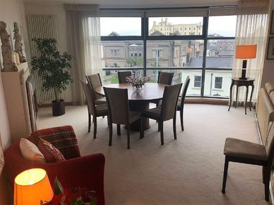 Photo for Luxurious 2 Bed 1,400 sq ft Apartment in Dunlaoire free parking