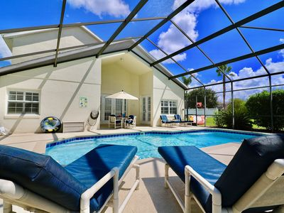 Photo for Large Villa, Heated Pool/Spa,  on Formosa Gardens, Island H2O water park 3 mins!