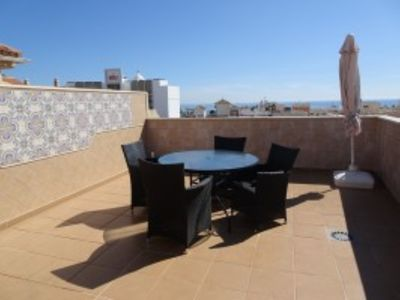 Photo for AP184 Beautiful penthouse with pool near the sea