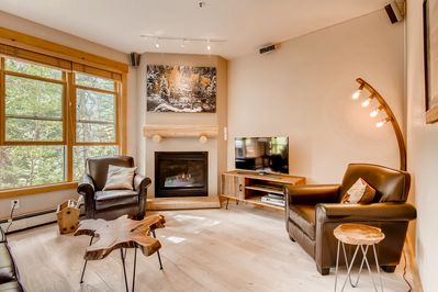 Living Room - Welcome to Keystone! Your rental is professionally managed by TurnKey Vacation Rentals.