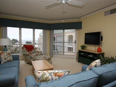 Photo for 4503 Windsor Court N  Ocean Views  Heated Complex Pool & Jacuzzi  Private Balcony  Palmetto Dunes