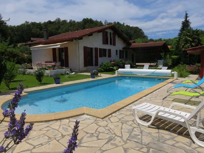 Photo for Ascain: house with pool for 8 people, nice garden, ideal for holidays