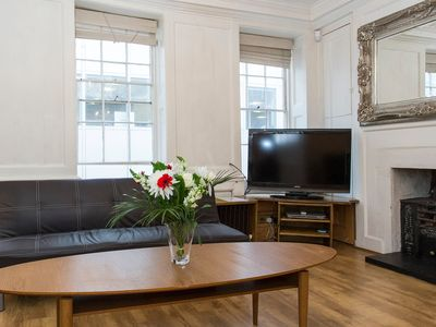 Photo for 3 bed Historic house Soho London by Covent Garden, Westminster -  Sleeps 12