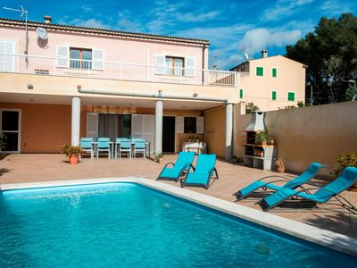 Photo for Mar i Mar - Excellent villa in Muro with pool 039