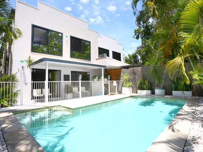 Photo for Upper Coomera 3 bedroom duplex - Private Pool - Close to Theme Parks & Tram!
