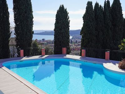Photo for Vacation Home in Padenghe Sul Garda with 2 bedrooms sleeps 4