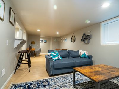 Photo for Homey Basement Apartment, Centrally Located in CDA