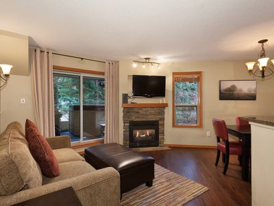 Photo for 54 Glaciers Reach a 2br with hot tub & pool in Whistler Village