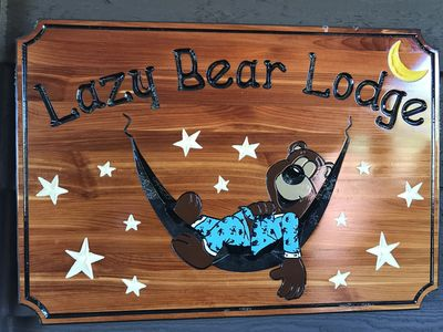 WELCOME TO LAZY BEAR LODGE!