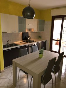 Photo for Alghero Lido, 2 bedroom, 2 balcony apartment , 5 minutes walk from the beach