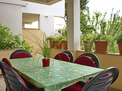 Photo for Two bedroom apartment with terrace Nin, Zadar (A-12890-a)