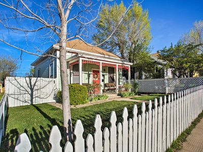 Photo for Serendipity Cottage w/Yard, Walk to Town + Dining!
