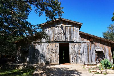 Event Barn with deck and bathroom - additional charges may apply