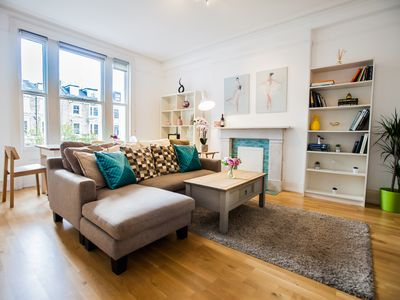 Photo for New Apartment: Beautiful 2 bedroom Kensington Olympia Apartment with Kitchen