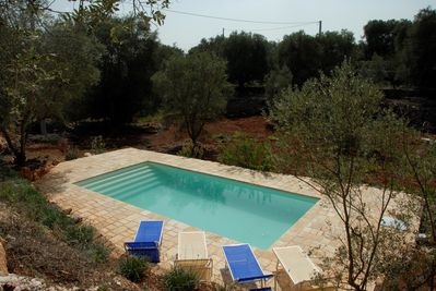 4m x 8m private pool.  Pool is OPEN from MAY thru OCTOBER