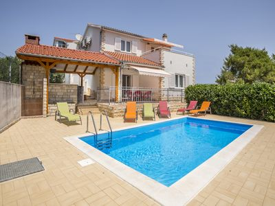 Photo for New Villa with pool for one group / family.