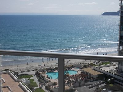 Photo for 12th FLOOR OCEAN VIEW! LARGEST 1BR/1BA WITH LARGEST BALCONY! EVERYTHING UPSCALE!