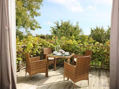 Photo for SEA VIEW, family friendly, with a garden in St. Austell, Ref 965221